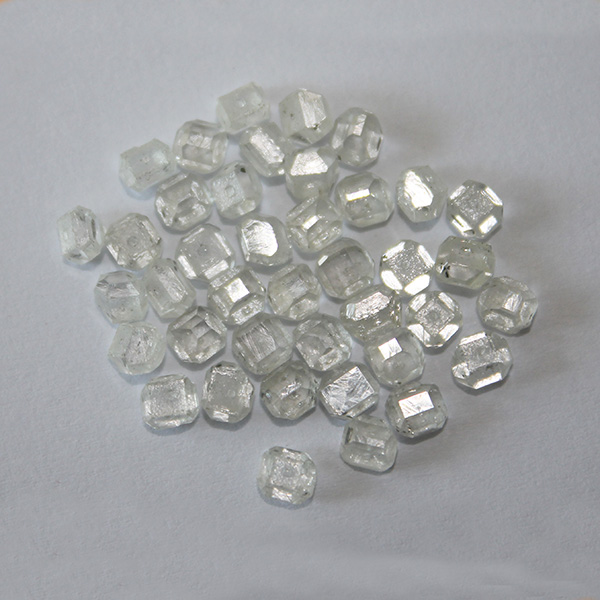 Rough uncut HPHT synthetic diamond